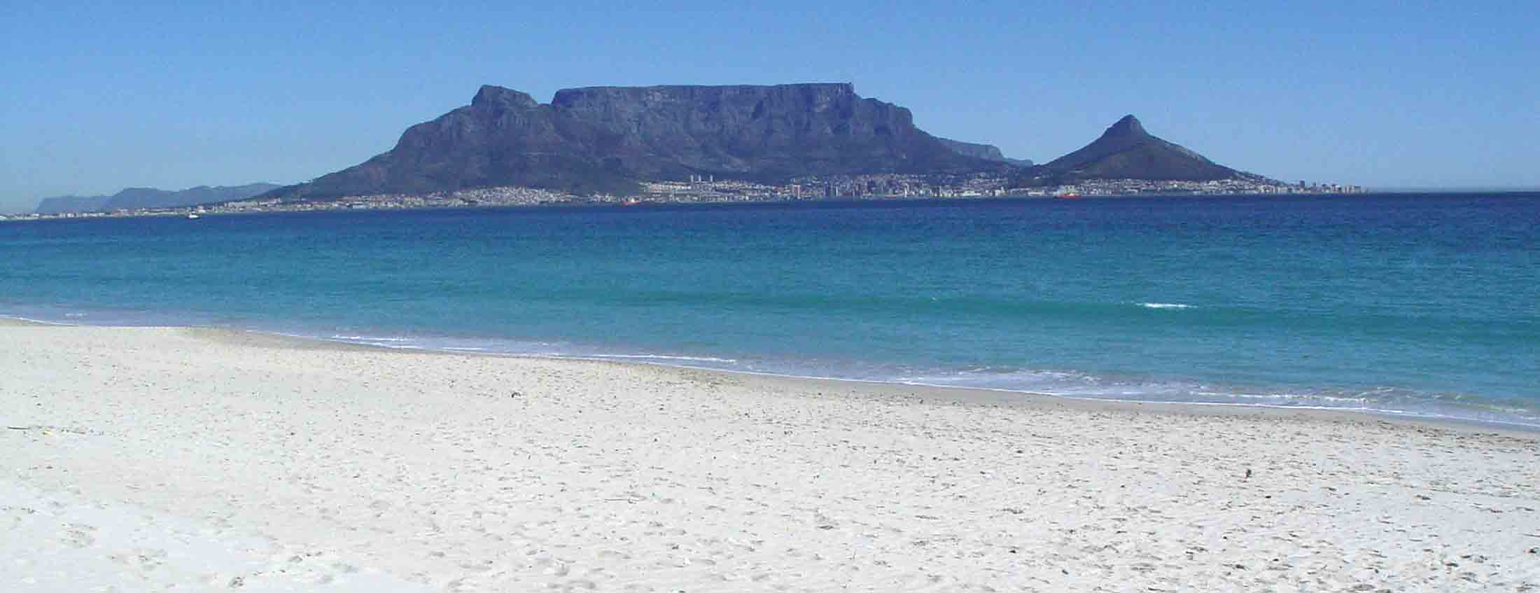 table mountain from big bay