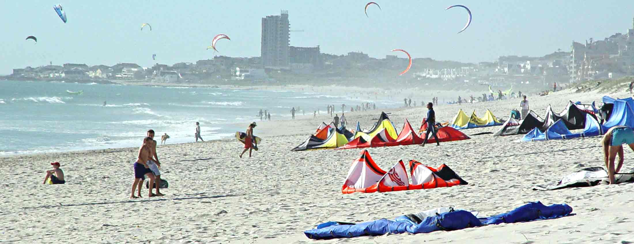 big bay kite surfing